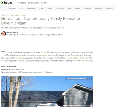 HOUZZ   ALGOMA RETREAT