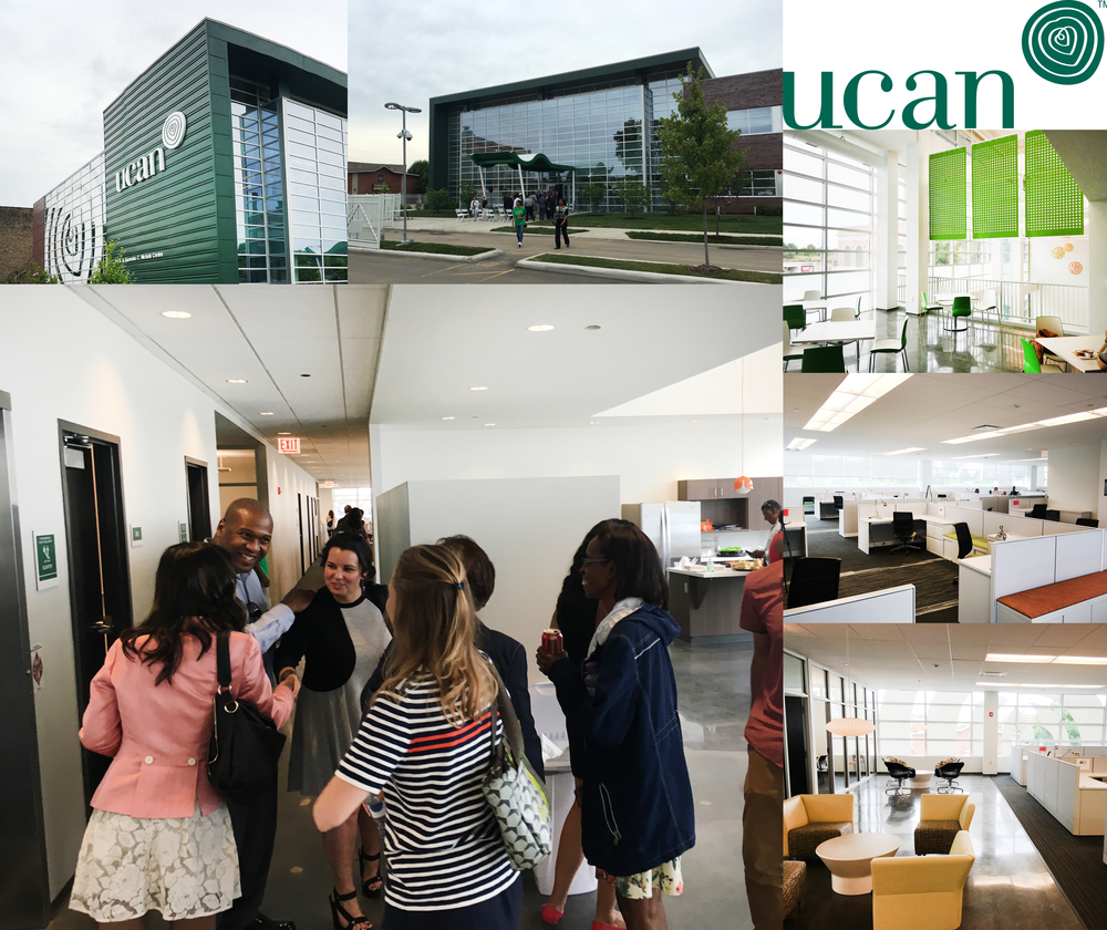 UCAN CELEBRATES HEADQUARTERS GRAND OPENING Collaborations with Johnson & Lee, Moody Nolan, and Searl Lamaster Howe Architects, have resulted in UCAN's new headquarters.