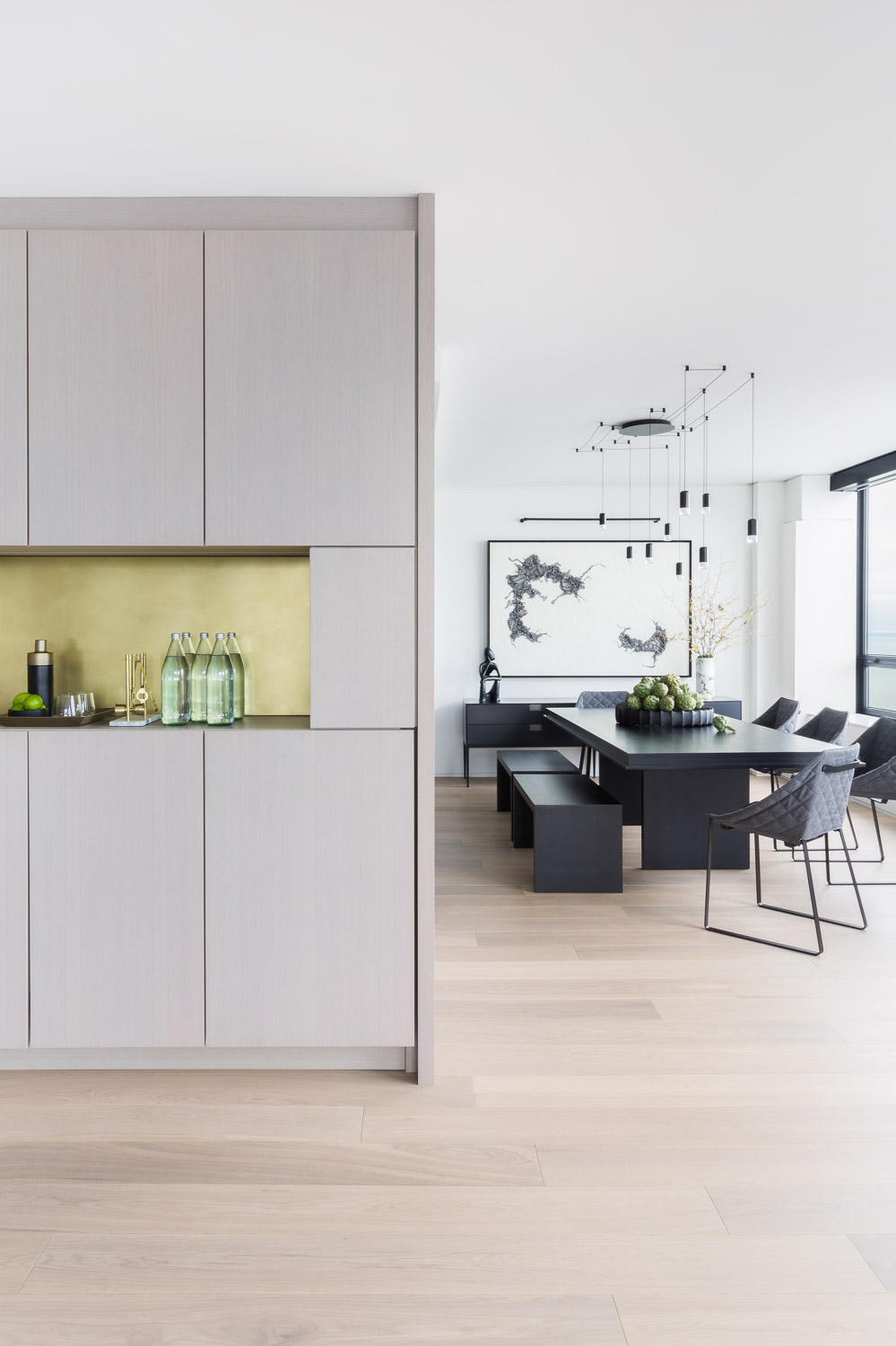 ARCHITECTURAL DIGEST  FEATURE  A Cramped Kitchen and Dining Room Become One  Ideal Entertaining Spot
