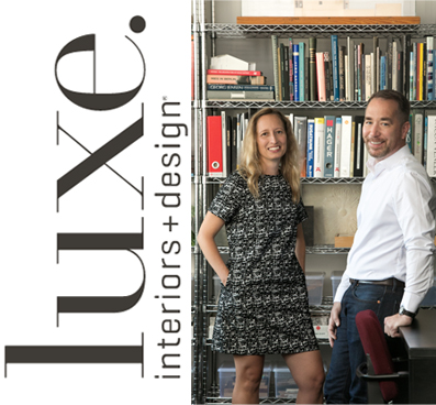 LUXE INTERIORS+DESIGN: DATE BOOK A shared love of inspiring spaces brought together Chicago architects Pam Lamaster-Millett And Greg Howe nearly 20 years ago. Ever since, they've served as full-time principals at Searl Lamaster Howe Architects.