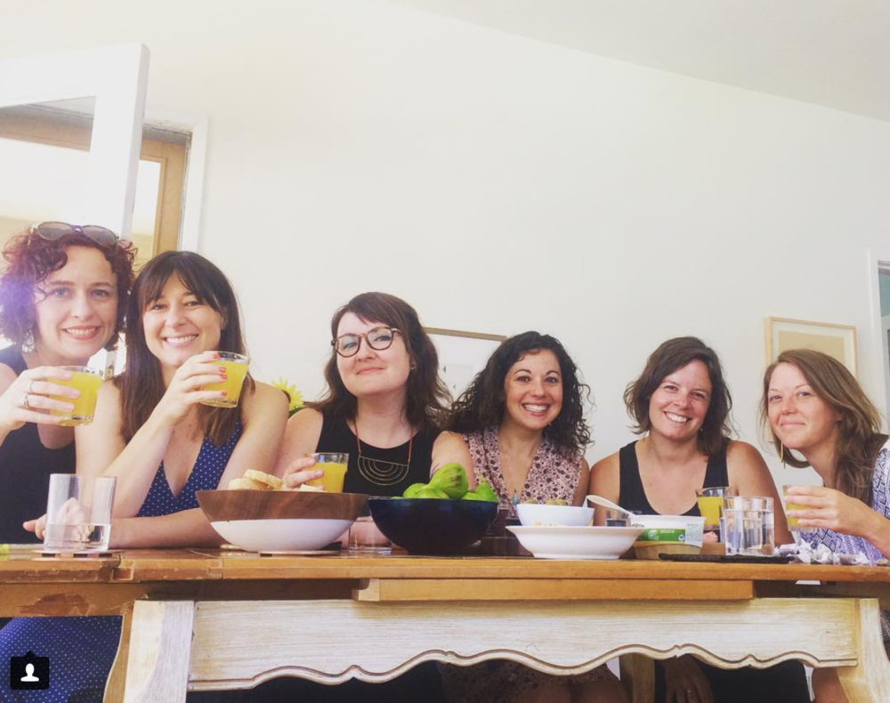 Badass women + mimosas = brunch interview.