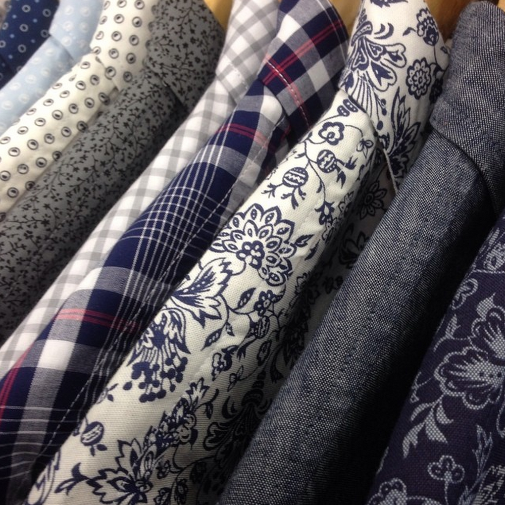 collection of spring shirting