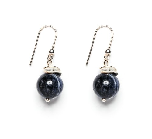 earrings vedrocks with pearl vintage stone products wan navy white img blue