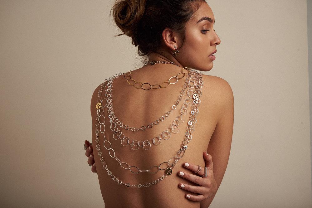 K+P signature chain jewellery
