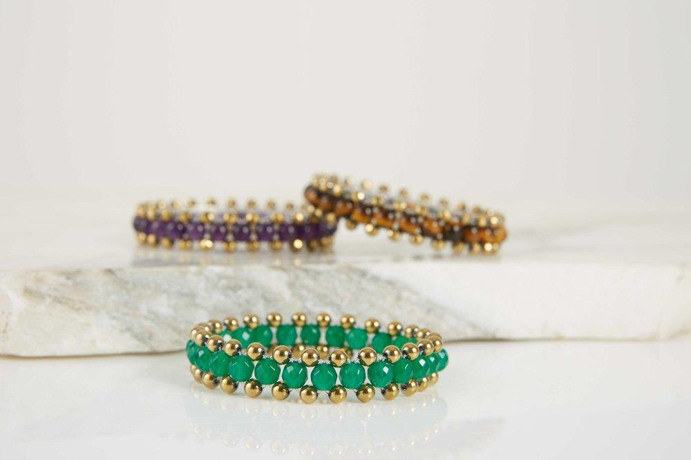 Jewel Gemstone Group Mini Cuff Zip Bracelets Lowres.jpg