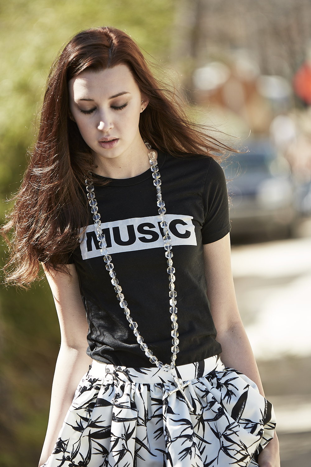 F+M Fashion and Music. Music Tee.