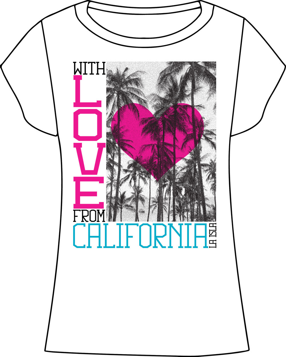 La Isla. California 2014 Tee.