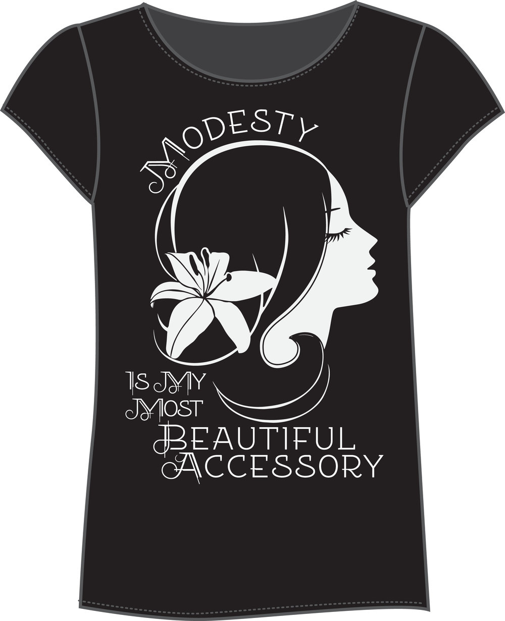 Eternal Princess. Modesty Tee.