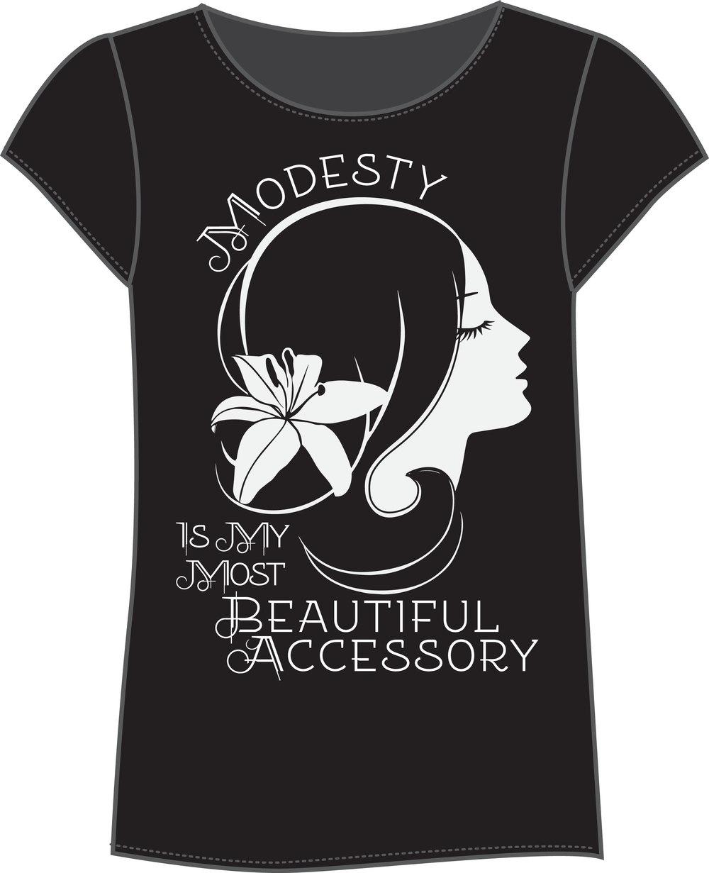 Eternal Princess. Modesty Tee.
