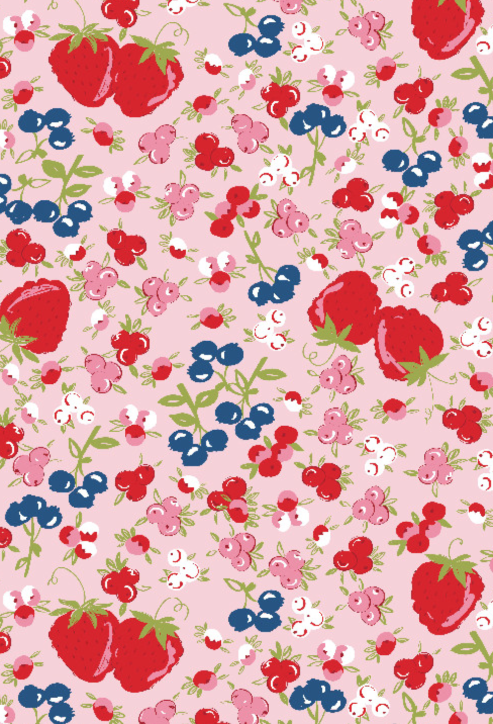 Richard Leeds International. Berries Pajama Print.