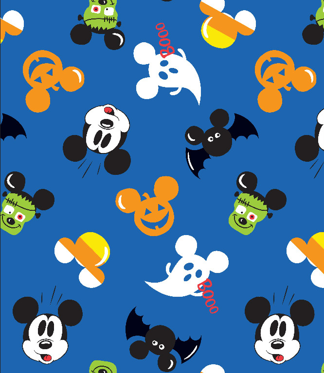 Richard Leeds International. Disney. Halloween Mickey Print.