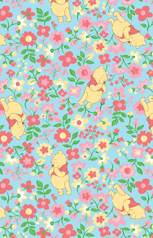 Richard Leeds International. Disney. Winnie the Pooh Garden Print.