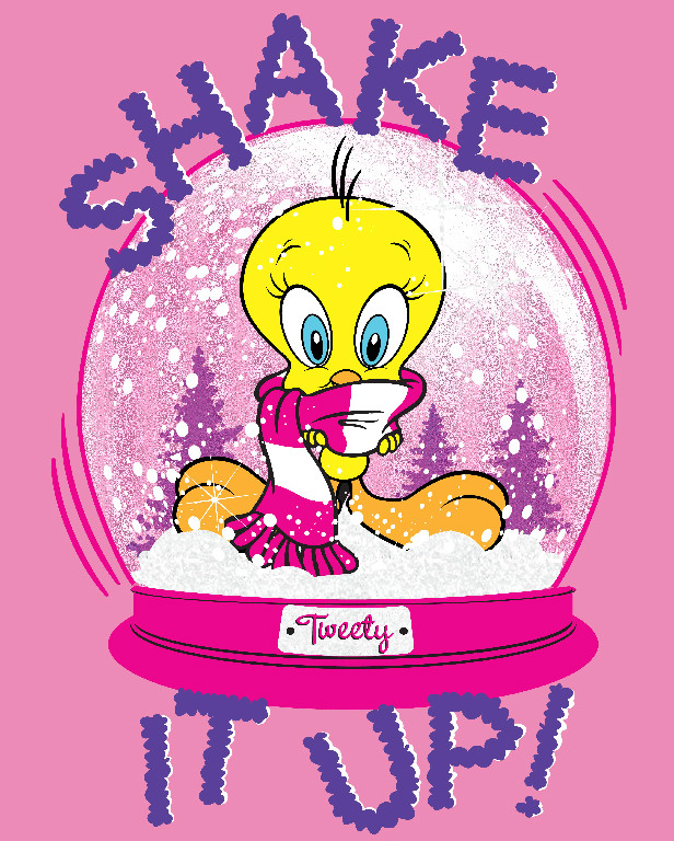 Richard Leeds International. WB. Shake It Up Tweety Graphic.