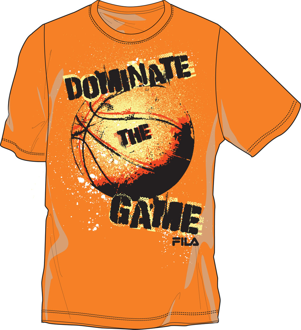 Fila. Dominate Tee.