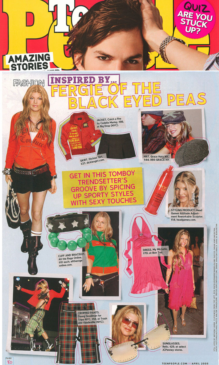 Teen People Magazine. Catch A Fire Clothing. Bob Jacket.