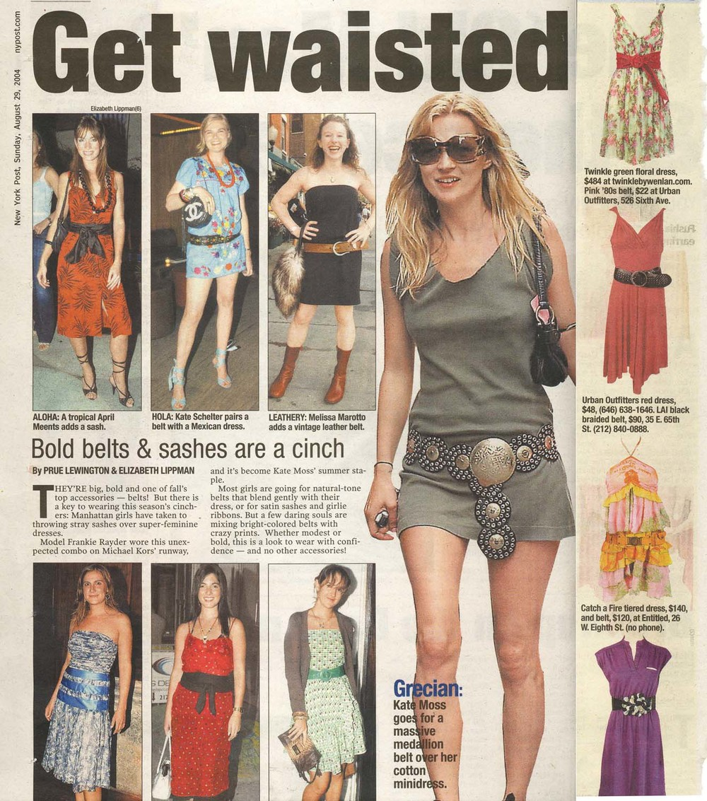 NY Post. Catch A Fire Clothing. Multi Print Dress.