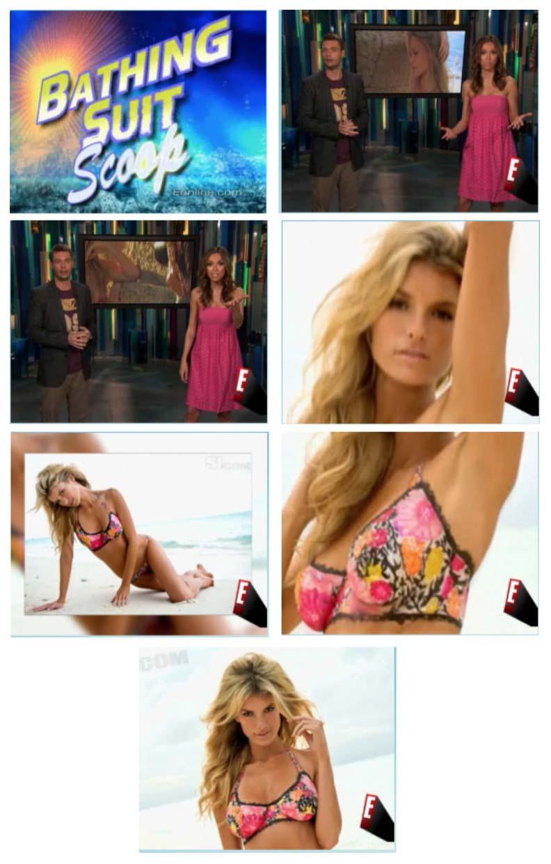 E! La Isla. New Floral Print Bikini.