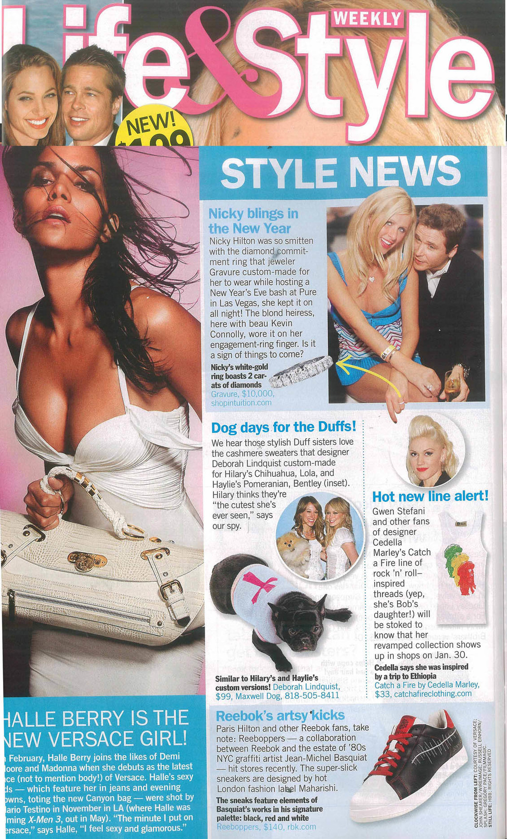 Life and Style Magazine. Catch A Fire Clothing. Rasta Bob Tank Top.