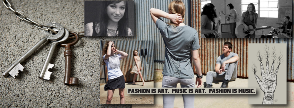 F+M Fashion and Music. Website Design.