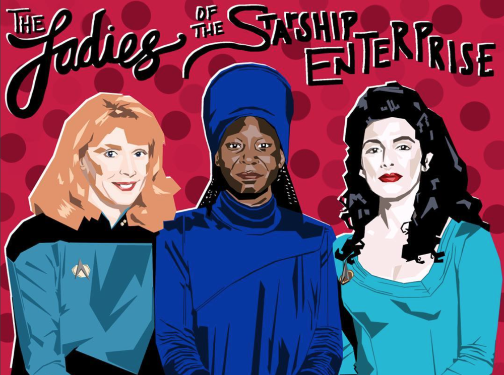 THE LADIES OF THE STARSHIP ENTERPRISE