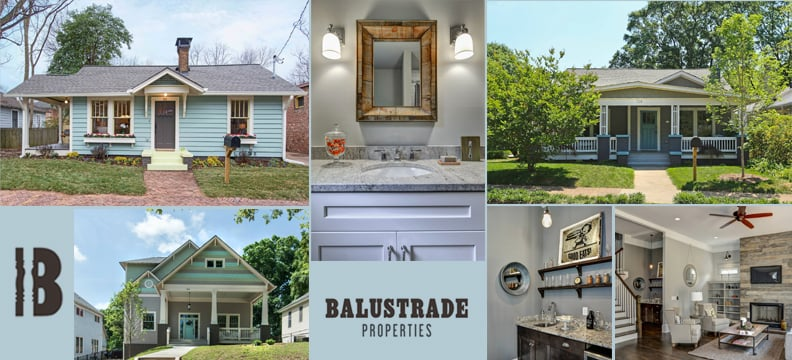 We love old homes! We love new homes! Well, we LOVE homes. Could you tell? Here are some examples of our past projects.