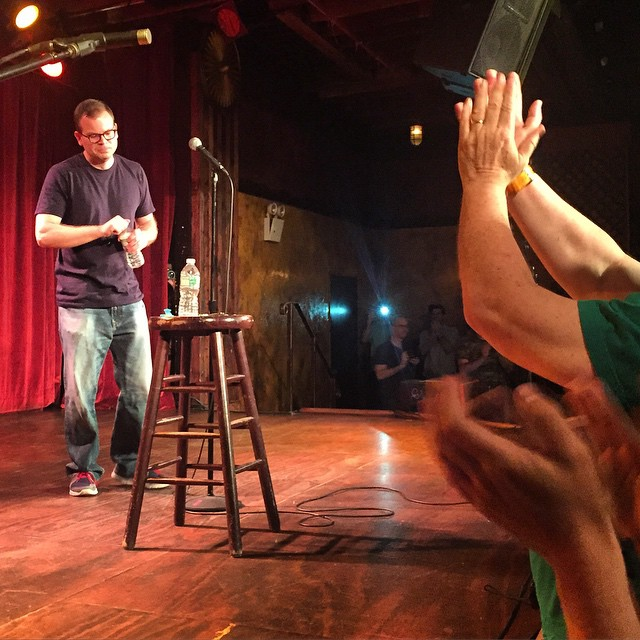 Just saw such an amazing show!! CONGRATS and Thank you @adamwadestoryteller, I feel like we were all a part of a unique happening. #standingovation #adamwadefromnewhampshire  (at The Bell House)