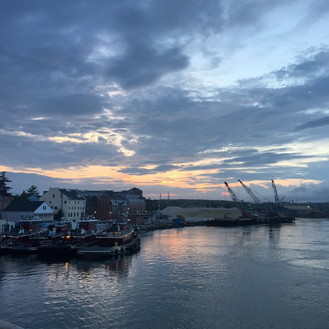#portsmouth #nh  (at Surf Sushi Bar)