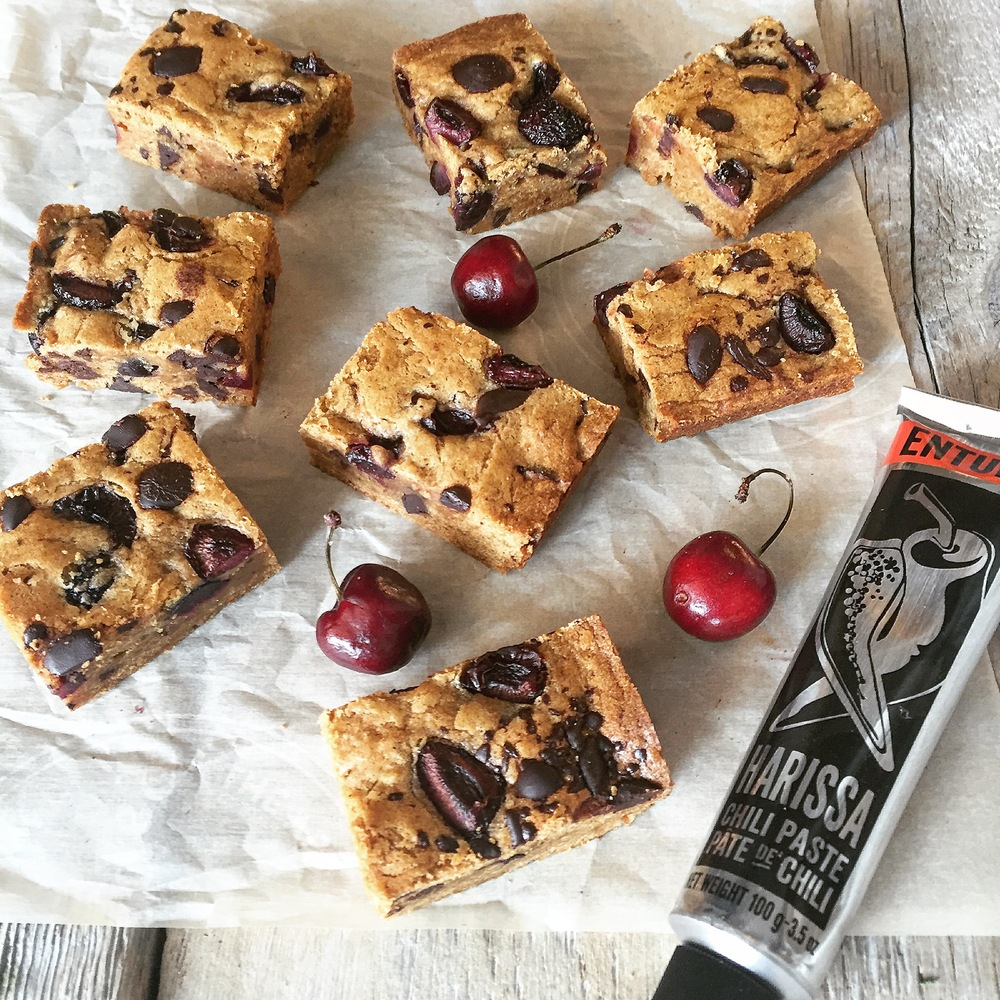 HARISSA BLONDIES