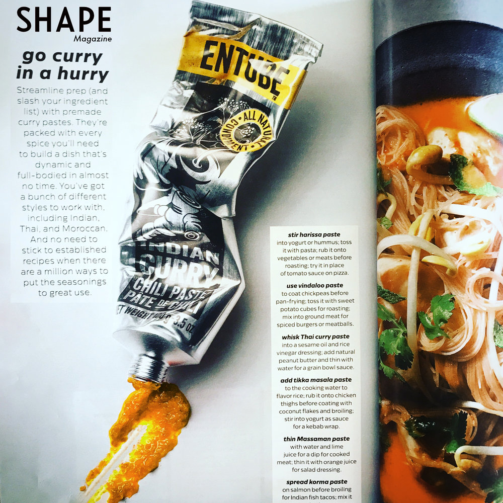 Shape magazine go curry in a hurry