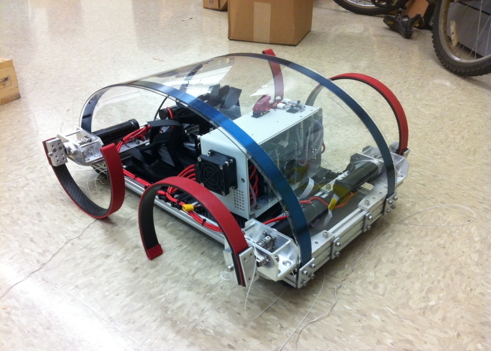 Quadruped Robot (Purdue University)