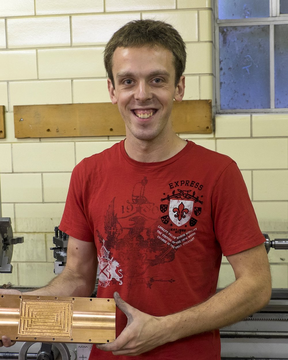 Gregory Stilinger (Manufacturing Engineer)