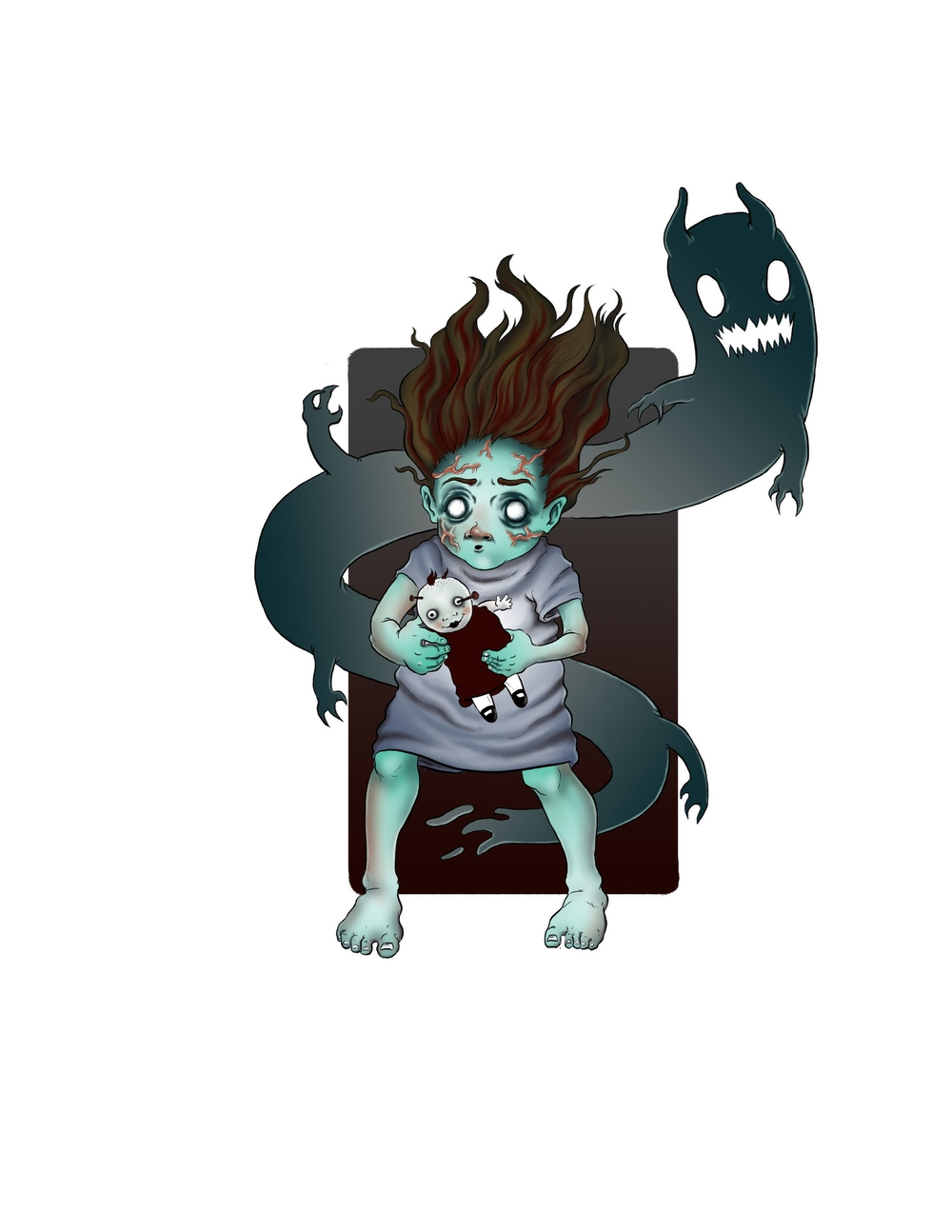 Poltergeist Child Design #2