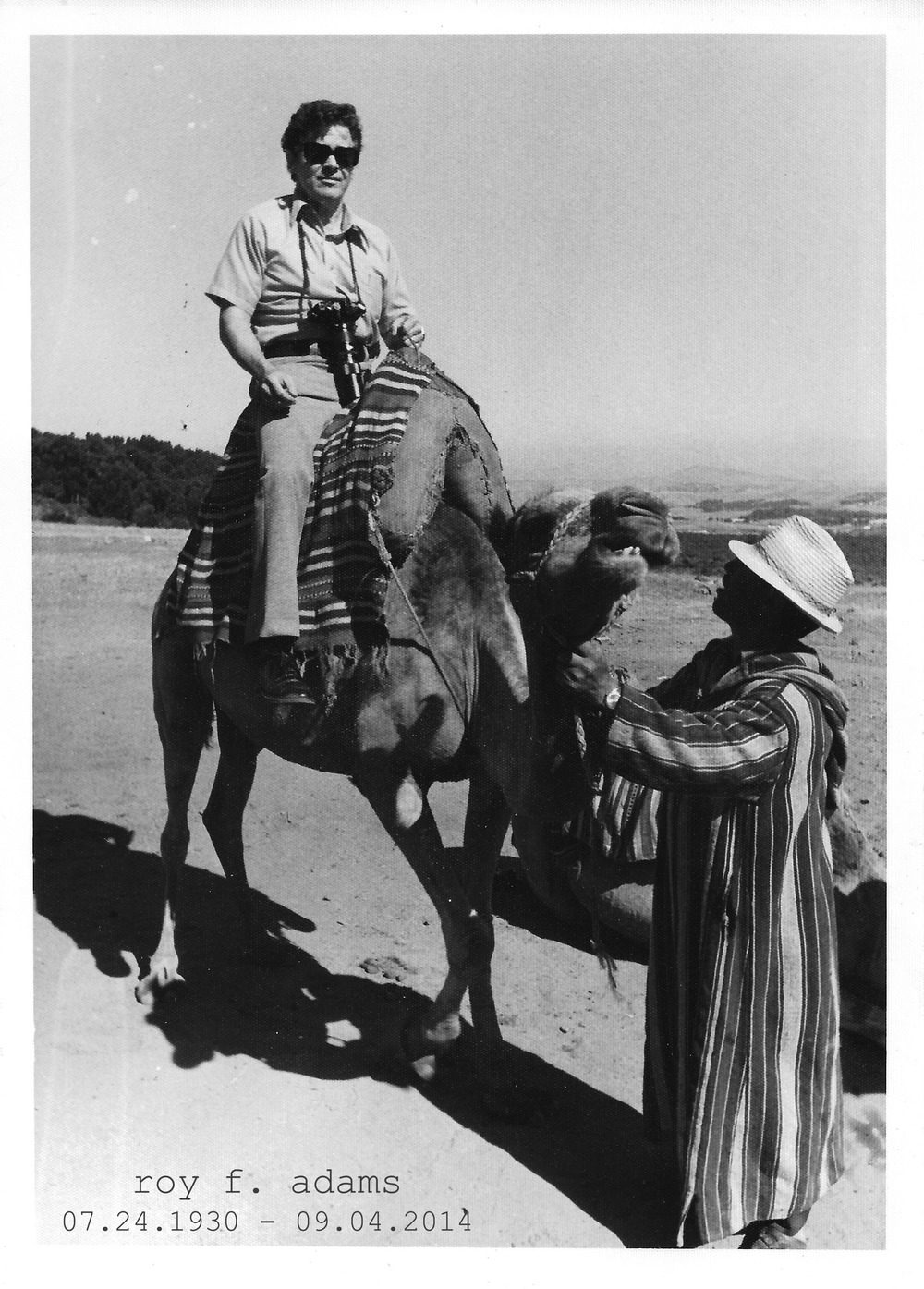 Papa Roy on Camel