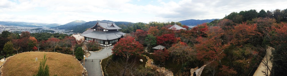 The lovely foliage and views in Southern Higashiyama in Kyoto, Japan.