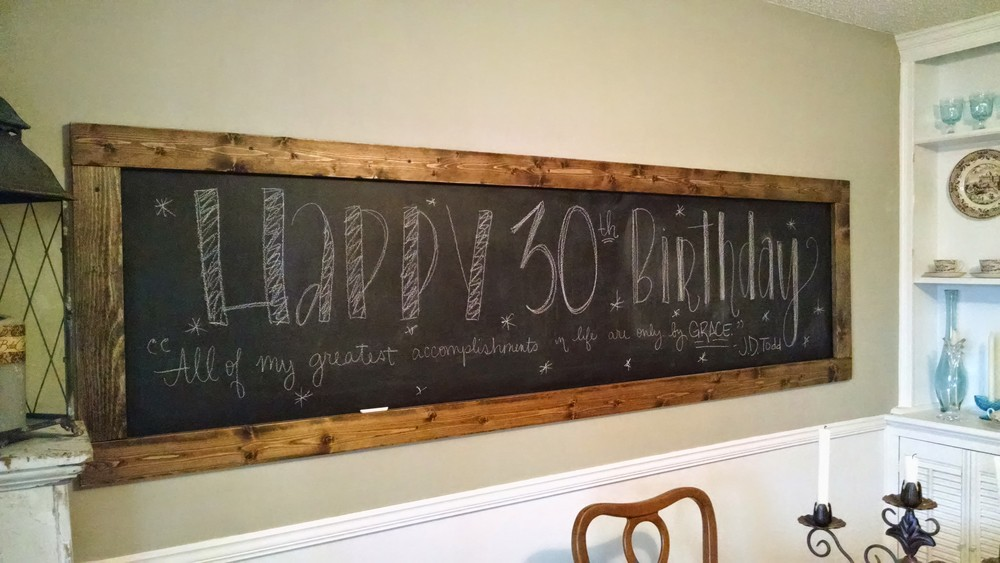 Chalkboard via Jitney's Journeys