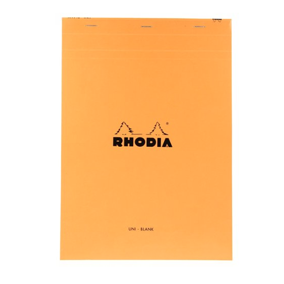 Rhodia Top Staplebound No. 18 Notepad (8.25 x 11.75)