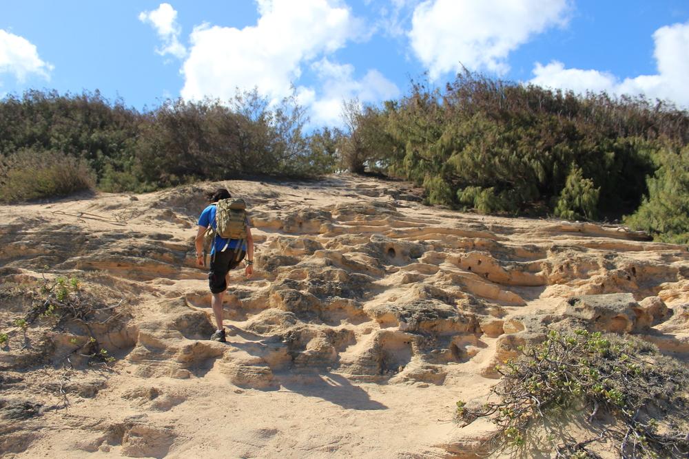 Maha'ulepu Heritage Trail in Poipu // Kauai, Hawaii // via Jitney's Journeys