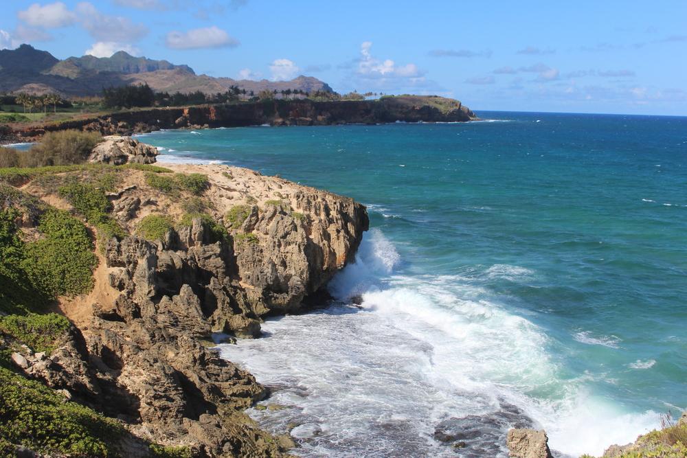 Maha'ulepu Heritage Trail in Poipu // Trail Hike in Kauai, Hawaii // via Jitney's Journeys
