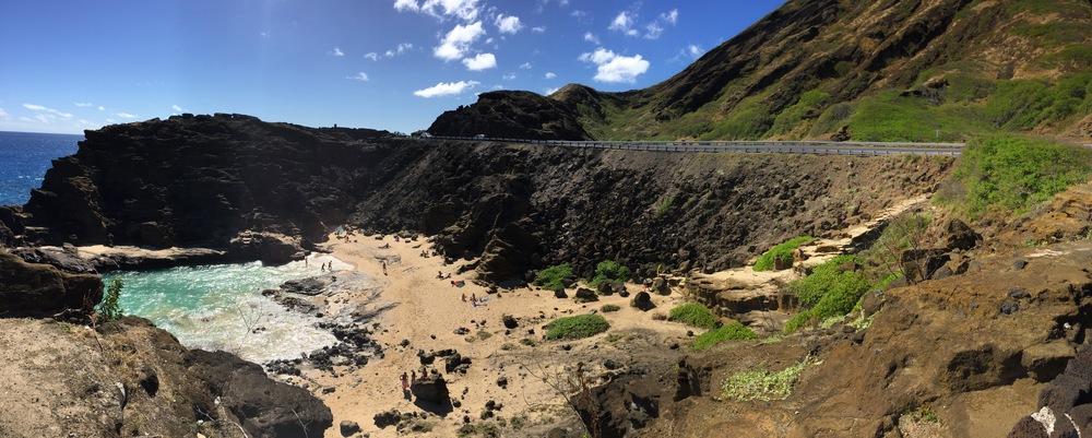 Halona Blowhole at Oahu, Hawaii // via Jitney's Journeys