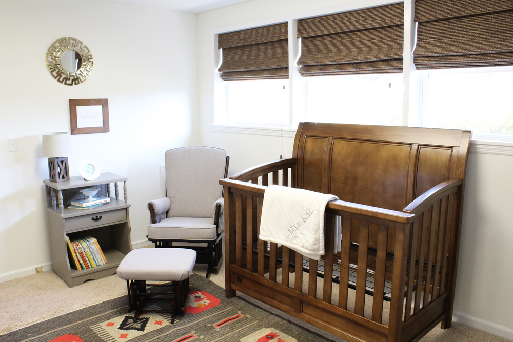Nursery for Sweet Girl // via Jitney's Journeys