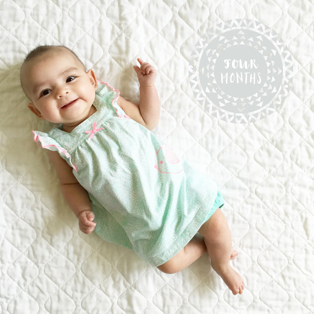 Mia Kai // Four Months Old Update