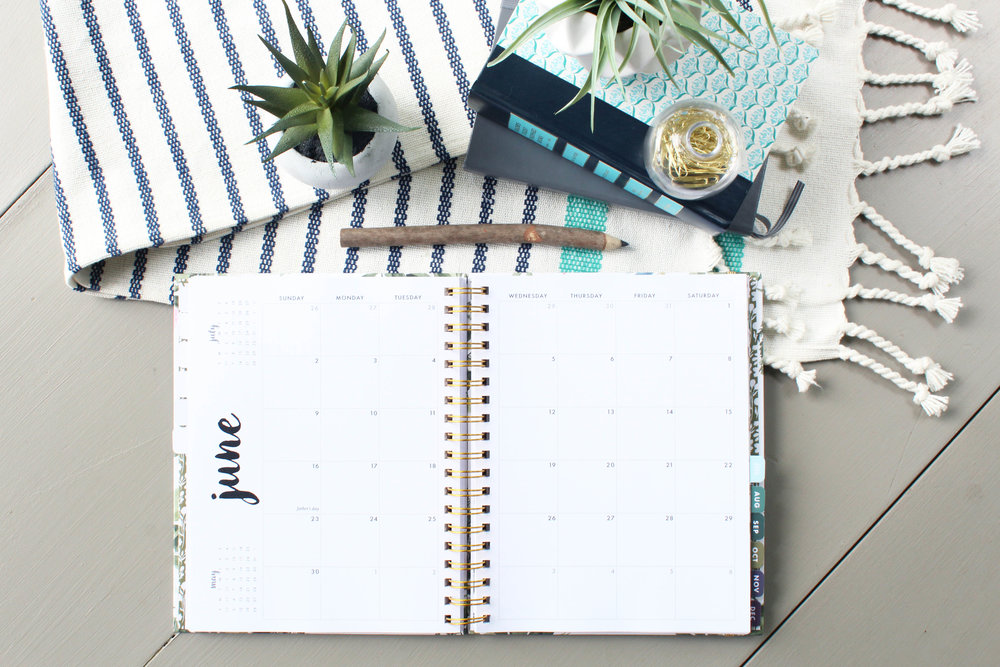 2019 Agenda Monthly Layout