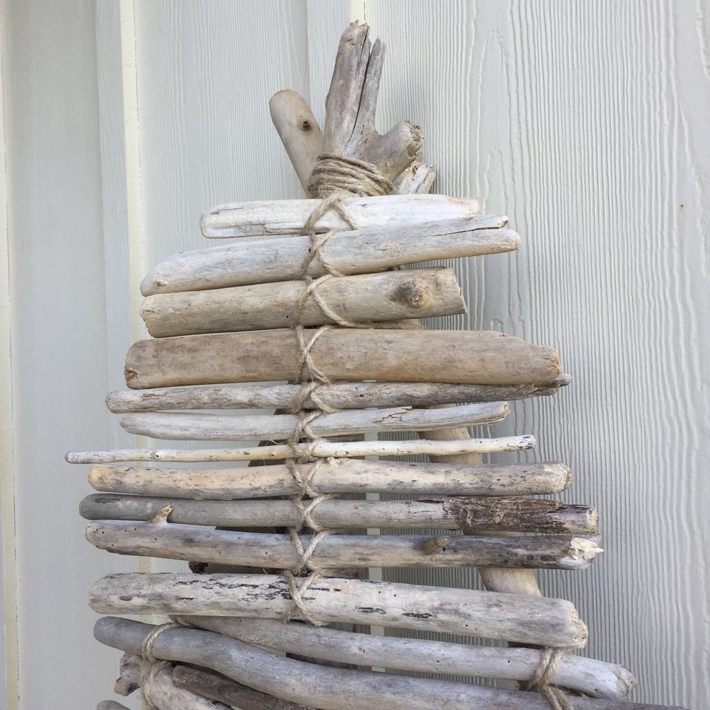Driftwood Christmas Tree DIY Tutorial