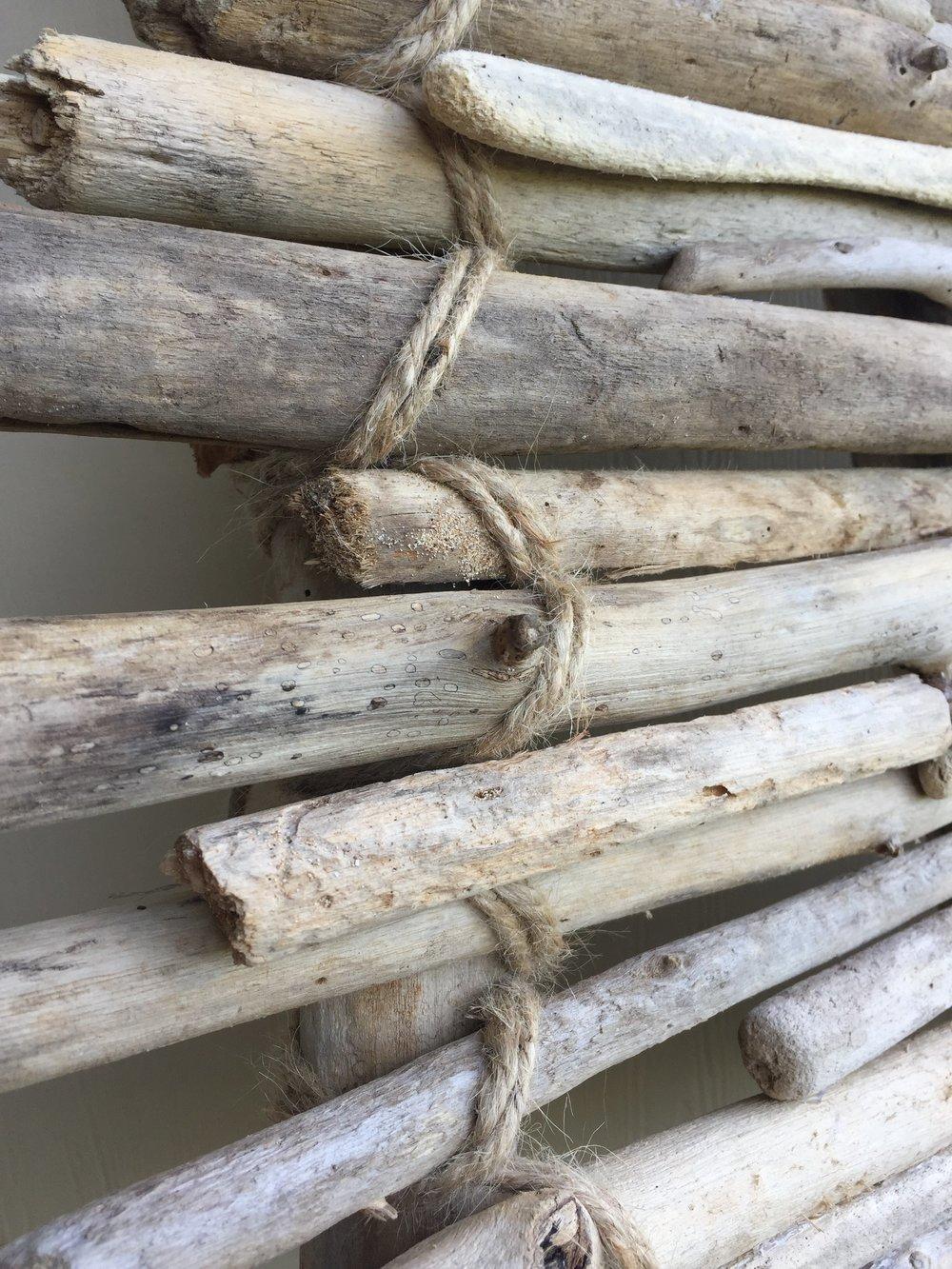 Beach Driftwood Christmas Tree DIY Tutorial
