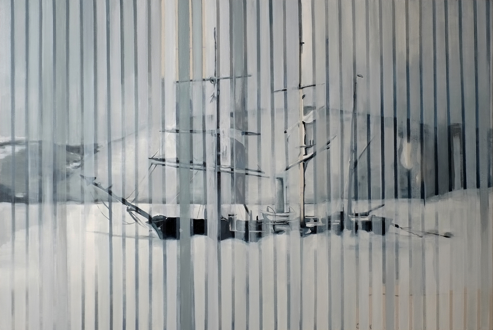 memory device <br> 6' x 4' <br> oil on canvas