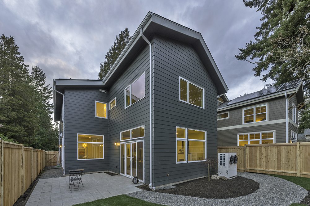 Zero-Energy Townhome Seattle