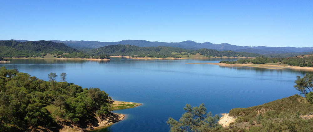 Image from Lake Nacimiento