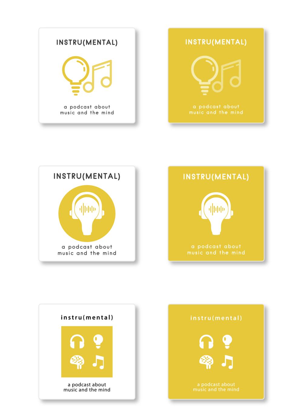 Instru(mental) Podcast's Logo Design — Cheyenne Varner
