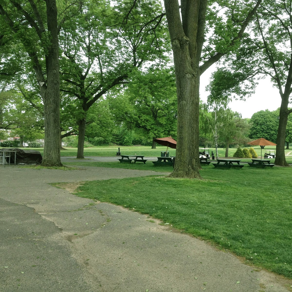 The Outdoor Grill and Picnic Area