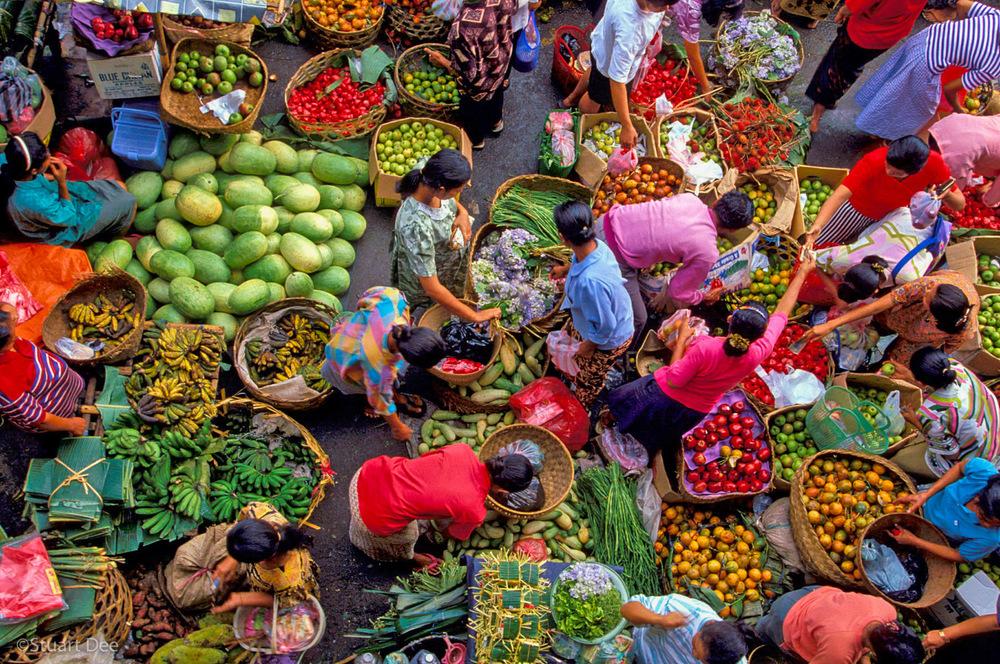 Market, Ubud, Bali, Indonesia